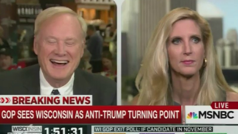 Why The Hell Is Chris Matthews Constantly Booking Ann Coulter To Appear On Hardball?
