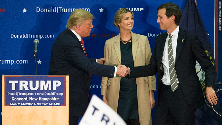 Donald Trump Picks Up Hard-Earned Endorsement From Son-In-Law's Newspaper