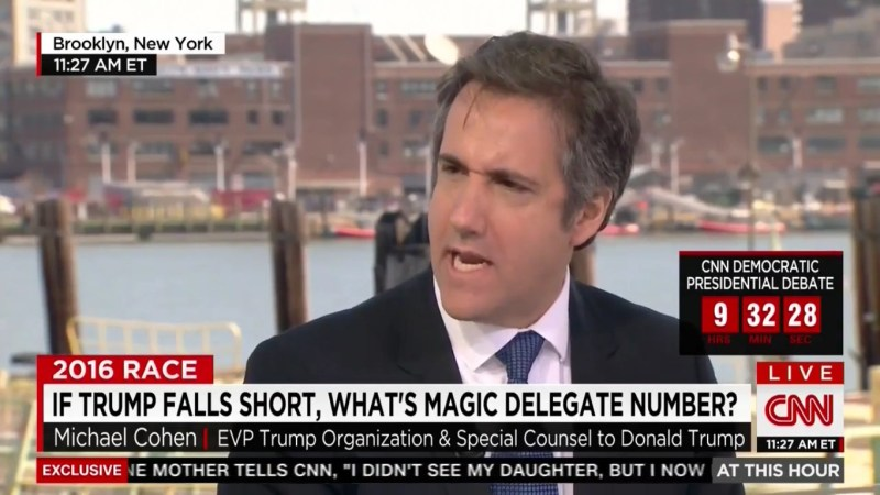 Trump's Lawyer Really Wants Trump To Be Prez…But Can't Vote For Him Because He's A Democrat