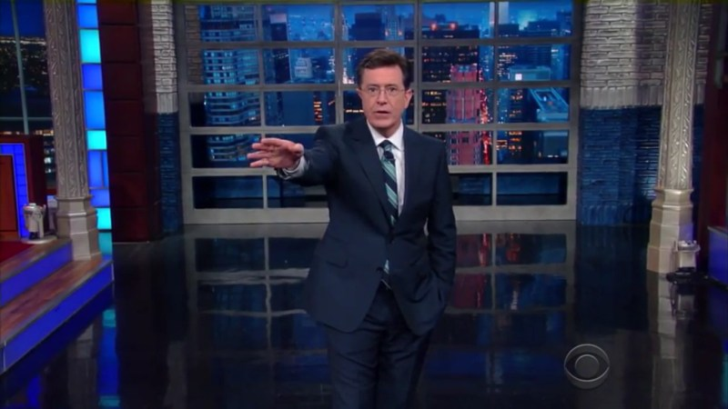 "Stephen Colbert Calls Donald Trump A ""Coward"" And ""Chicken"" For Avoiding His Show"