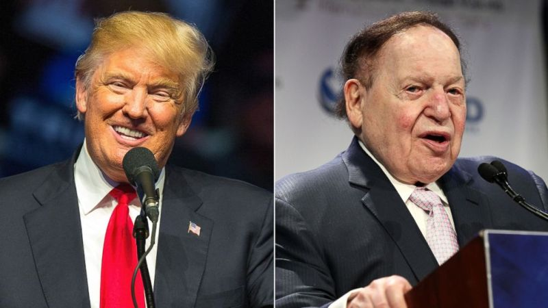 """Remember When Trump Said Sheldon Adelson Wanted To Make Marco Rubio His """"Little Puppet?"""""""