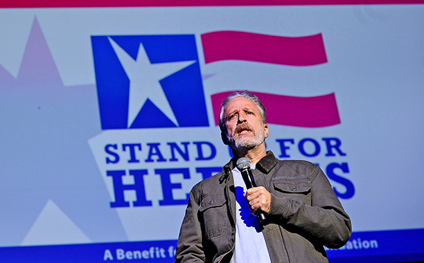 "Jon Stewart On Trump: ""Are You Eligible To Run If You Are A Man-Baby, Or A Baby-Man?"""