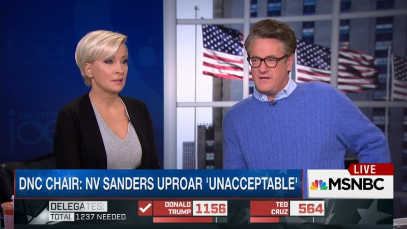 'Morning Joe' Does Trump's Bidding, Urges Bernie Sanders To Run As An Independent