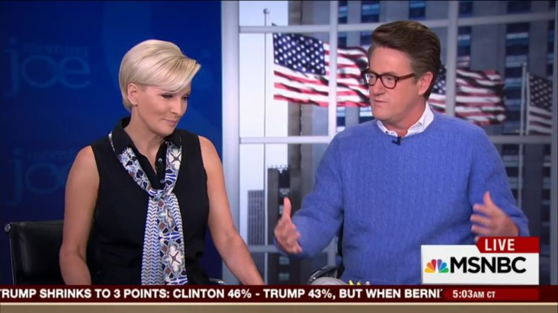 "Pot Meet Kettle: Joe Scarborough Says CNN Has Been ""Kissing Up"" To Trump For Months"