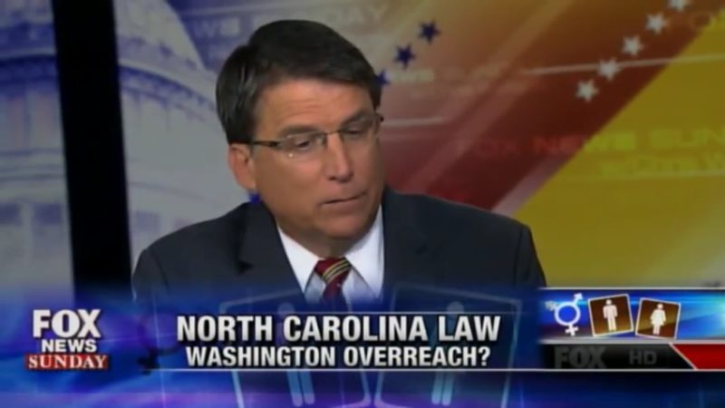 NC Governor Pat McCrory Can't Provide Any Evidence For Necessity Of Bathroom Laws