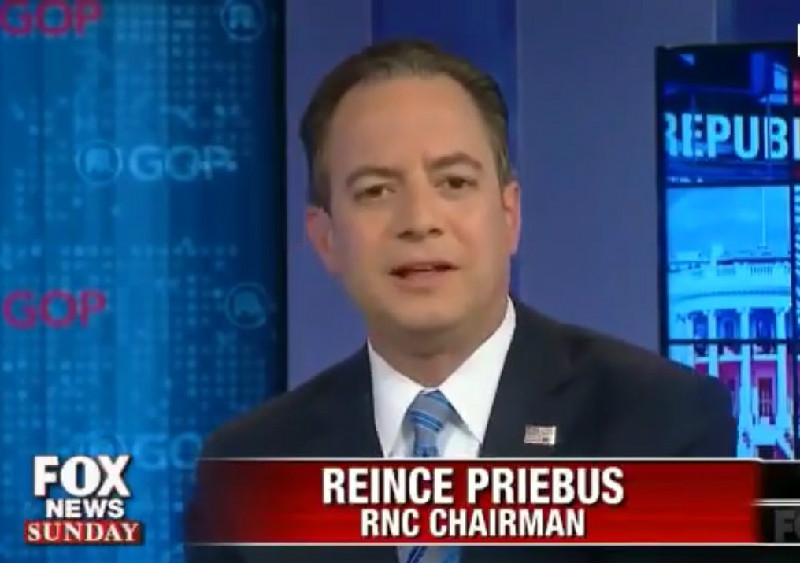 """RNC Chairman Reince Priebus: """"People Just Don't Care"""" That Trump Mistreated Women"""