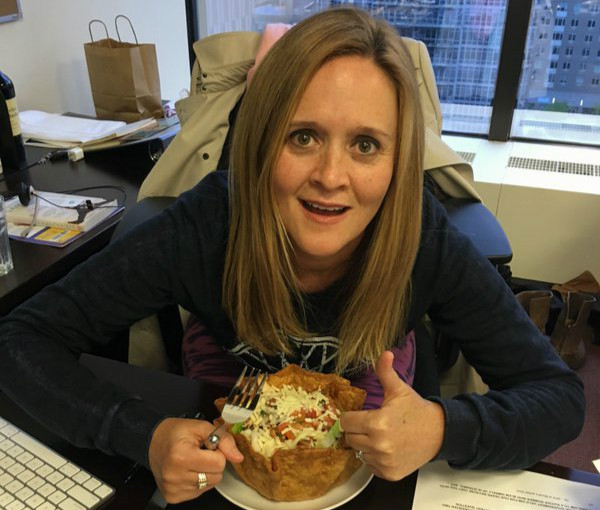 Sam Bee Gets All The Likes With Her Response To Trump's Cynical Hispanic Pandering