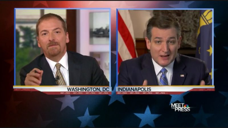 """Chuck Todd Gives Cruz The Hard Truth: """"Republican Voters Are The Ones Rejecting You!"""""""