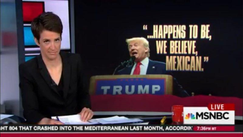 Rachel Maddow: Republican Dog-Whistling Has Been Overtaken By Trump's Overt Racism