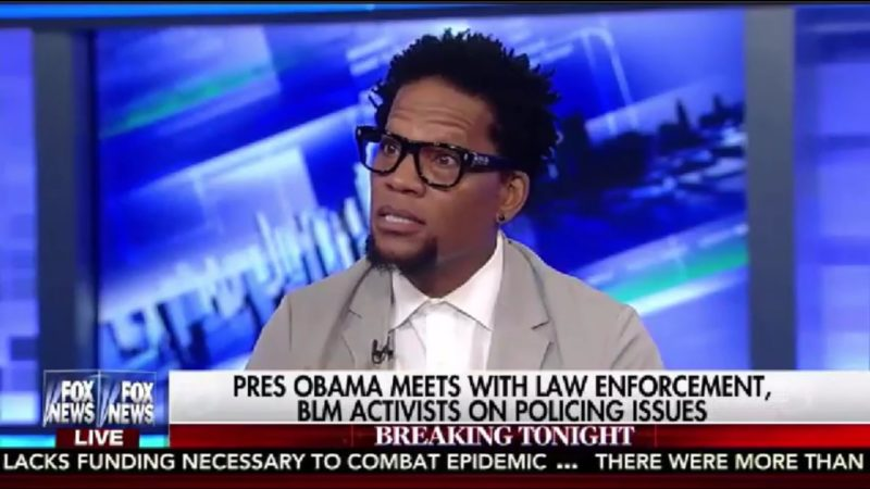 """D.L. Hughley: """"The Only Place Racism Doesn't Exist Is Fox News And The Police Department"""""""