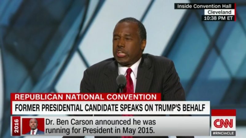 Ben Carson Says Hillary Worships The Devil Because Of Saul Alinsky Or Something