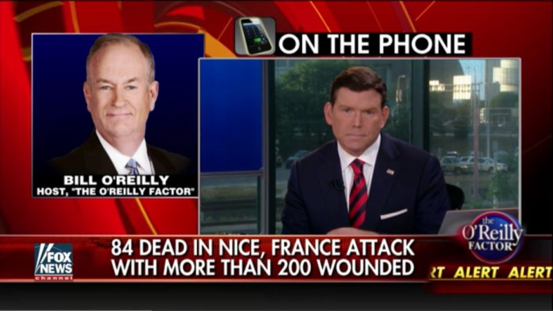 Bill O'Reilly Does A Little Trump Cosplay, Calls Into His Own Show To Bitch About Obama
