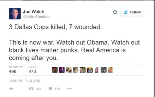 joe walsh tweetedited