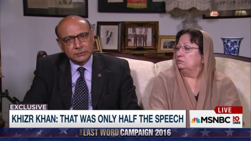 Khizr Khan Calls On Mitch McConnell And Paul Ryan To Repudiate Donald Trump