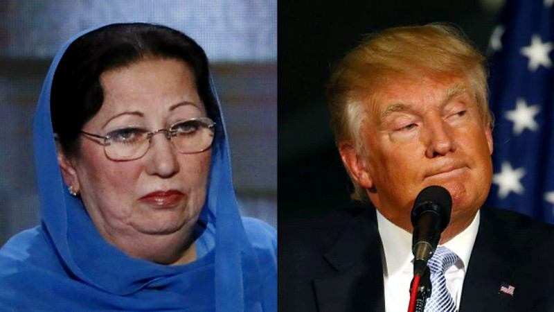 Khan Irony: Dead Soldier's Muslim Mother Outclasses Donald Trump