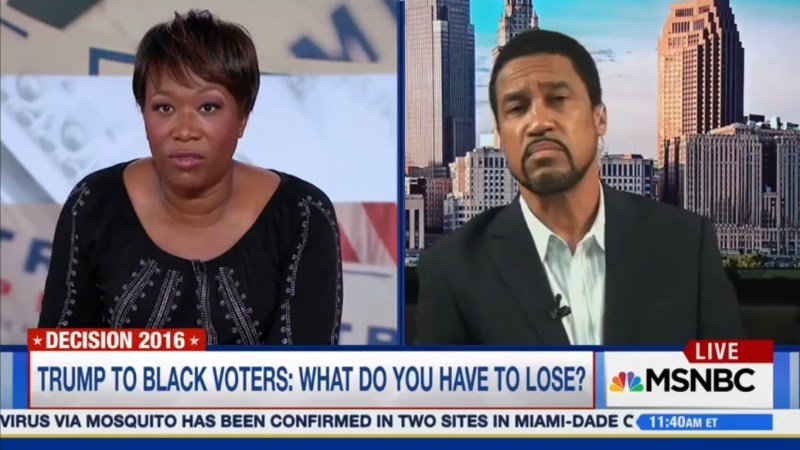 """Joy Reid To Trump-Supporting Pastor: """"No Sir, Even A Pastor Cannot Make Things Up"""""""