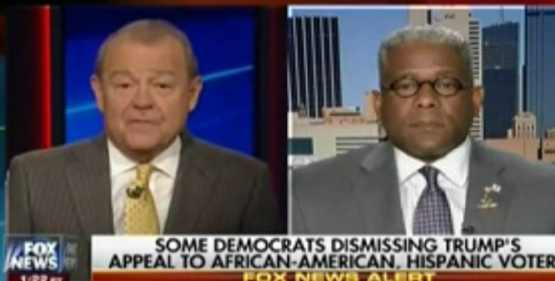 """Fox's Stuart Varney: Trump Can't Go To Black Communities Because Of """"Violent Demonstrations"""""""
