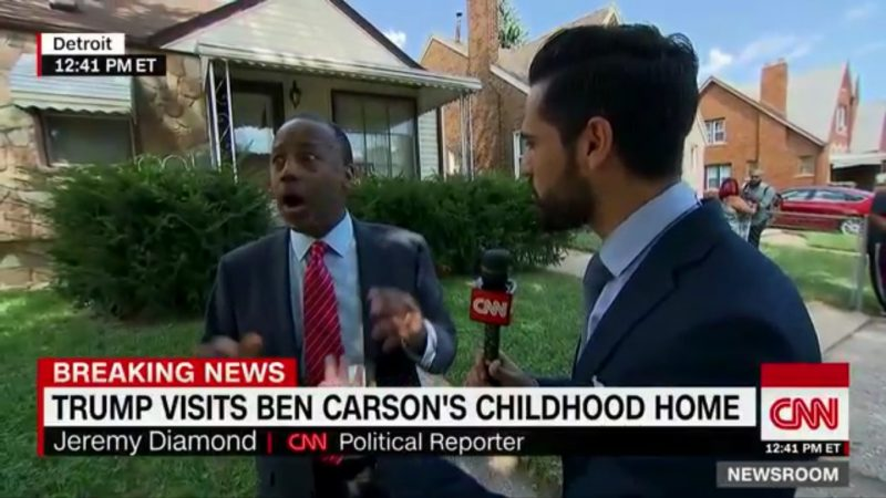 """Oh! My Luggage!"" Ben Carson Flees During Live CNN Interview To Find His Bags"