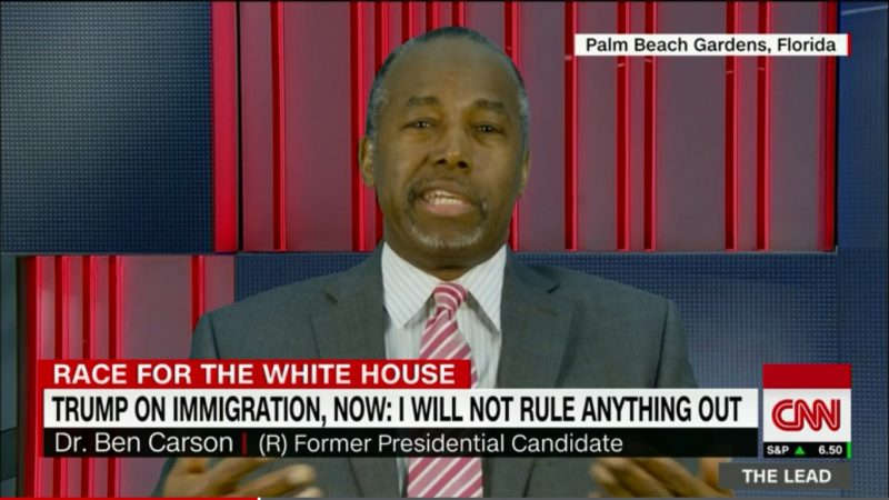 Ben Carson Continues To Prove That He's The Worst Surrogate Ever