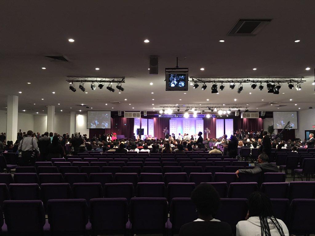 Sad! Nobody Attended Donald Trump's Black Panderfest At Detroit Church