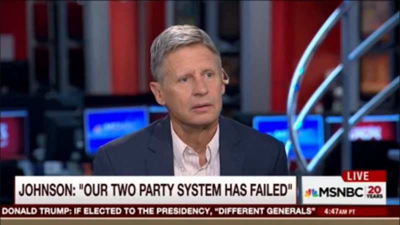 """You're Kidding"": Morning Joe Panel Reacts To Gary Johnson Asking ""What Is Aleppo?"""