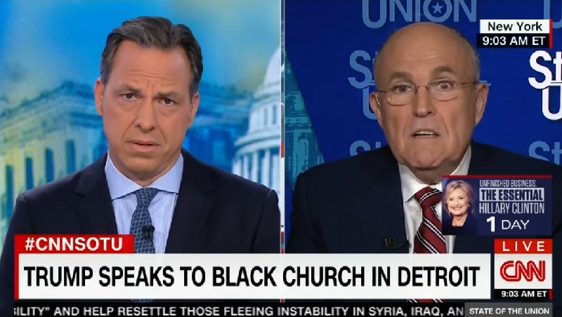 Giuliani Wants Democrats To Apologize To Trump For Calling Him Racist Over Birtherism