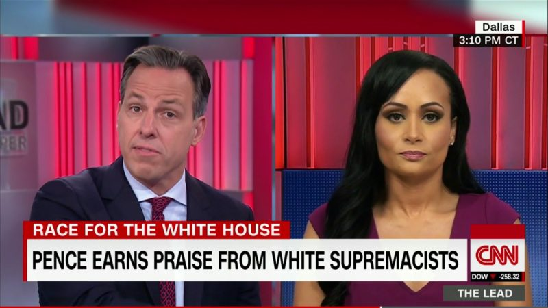 "Jake Tapper Fact-Checks Katrina Pierson: ""That Has Never Happened In The History Of The World"""