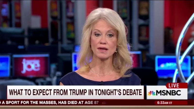 """Kellyanne Conway Has New Excuse For Trump's Lies: """"A Lie Would Mean He Knew"""" The Truth"""