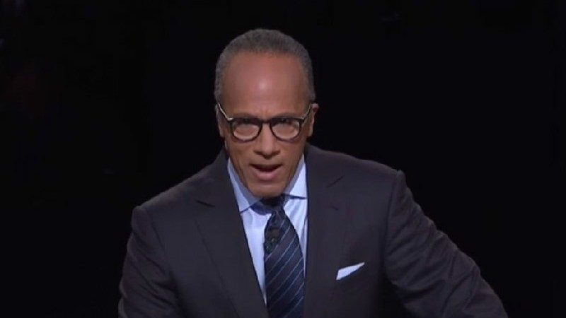 "Just Like Clockwork, Here Comes The Whining From Conservatives About ""Biased"" Lester Holt"