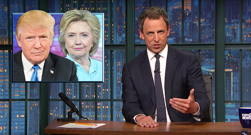 Seth Meyers: Watching Fox News Is Like Getting Election News From Your Mom's Facebook Friends