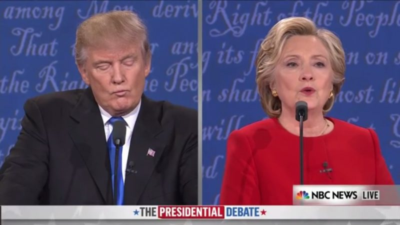 12 Underreported Examples Of The Debate's Trumpian Nonsense
