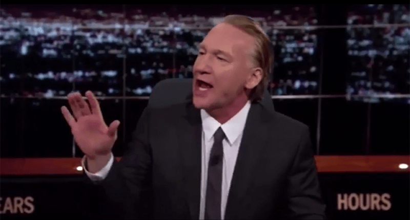 Trump Supporter On Bill Maher Can't Stop Interrupting: Just Like Donald Trump