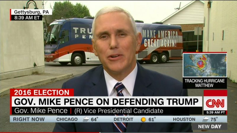 """He Didn't Choose His Words Well"": Pence Insists Trump Doesn't Want To Impose Muslim Ban"