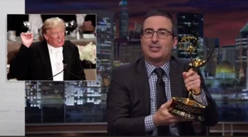 John Oliver Offers Donald Trump His Emmy If He'll Admit Defeat In November