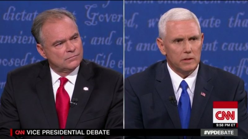 Pence Talks About Whipping Out Mexican Things During Debate At Norwood University
