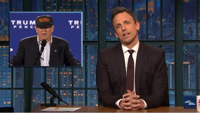Seth Meyers: Republicans Want To Paralyze The Government If Trump Loses