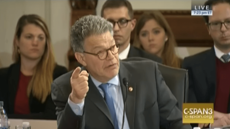 WATCH: Al Franken Delivers Passionate Defense Of Immigrants and Refugees