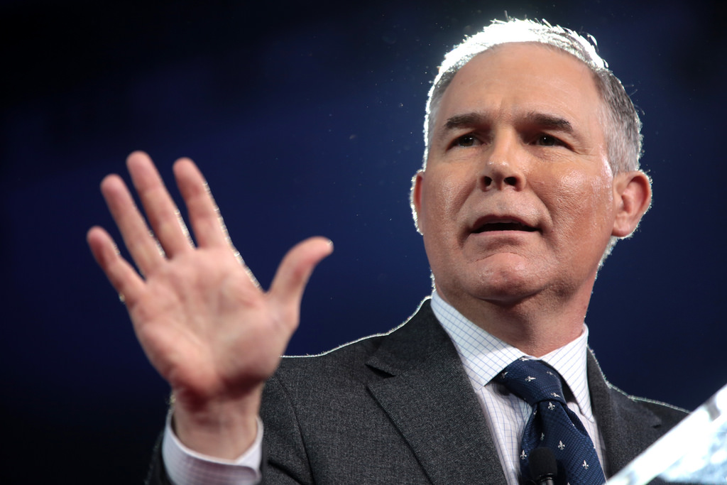 Security Guards Grab AP Reporter And Shove 'Her Forcibly Out' For Trying To Cover Scott Pruitt Hearing