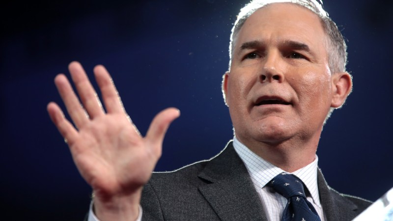 Have EPA Chief Scott Pruitt's Nine Scandal Lives Run Out?