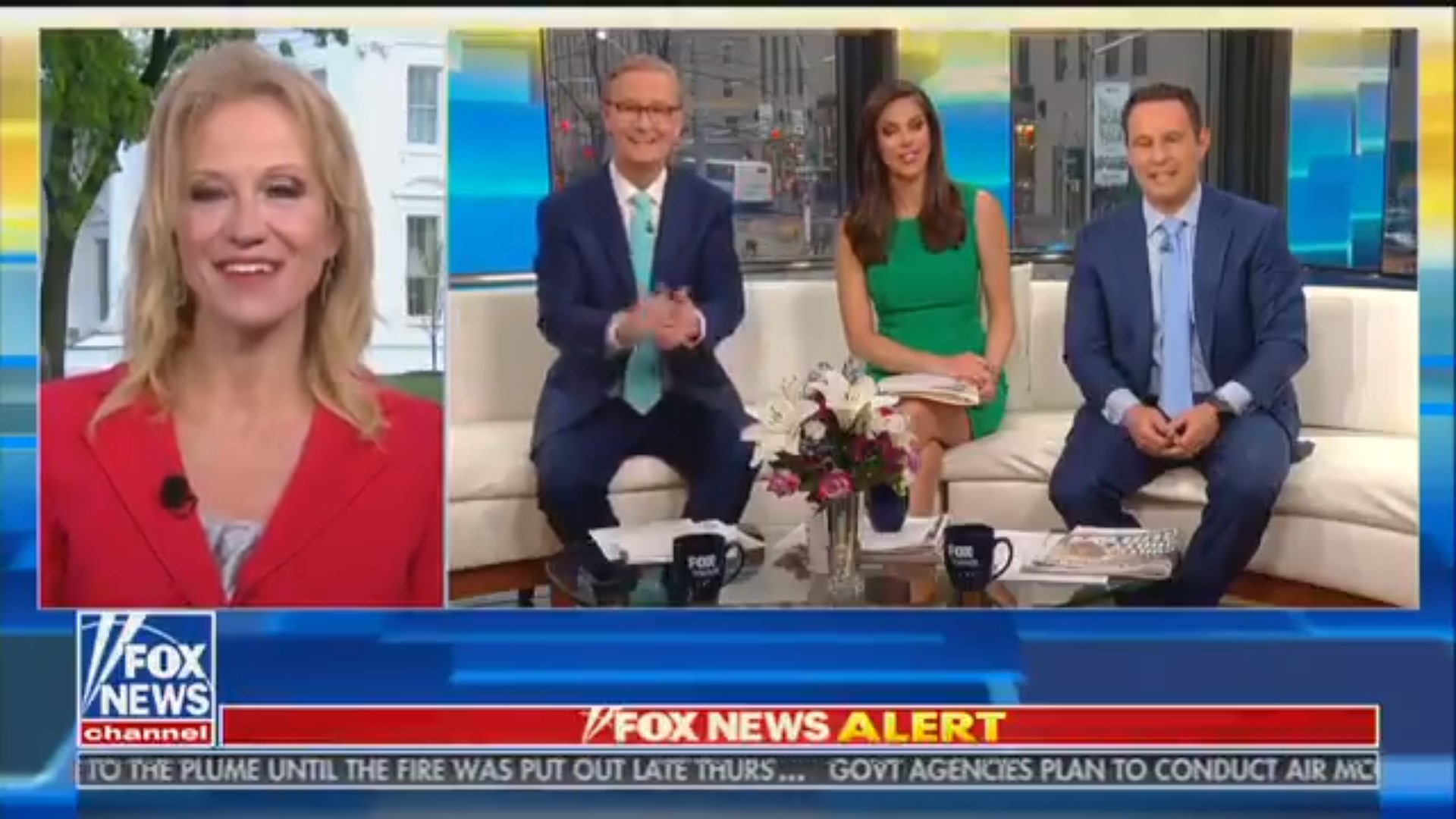 Watch Fox & Friends' Steve Doocy Shout 'Wow!' And Applaud At The Possibility Of Monthly Trump Appearances