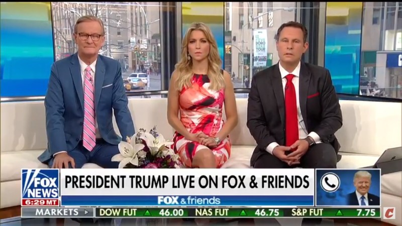 Trump Concludes Fox & Friends Call By Literally Screaming About Mueller, The FBI And DOJ