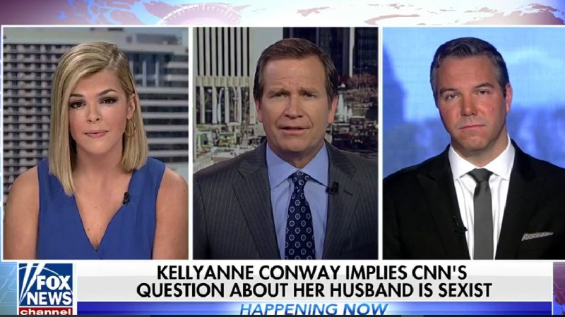 Fox News Anchor On Kellyanne Conway: 'Nobody Was Asking Hillary Clinton' About Her Husband