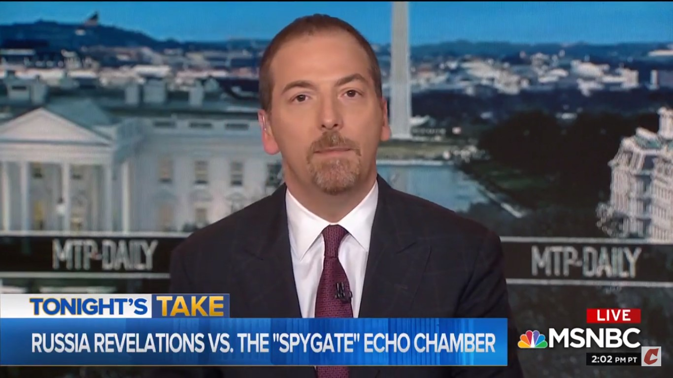 Chuck Todd: Is Trump's Spygate Conspiracy Just A 'Big Fat Distraction' From Legit Bombshells?