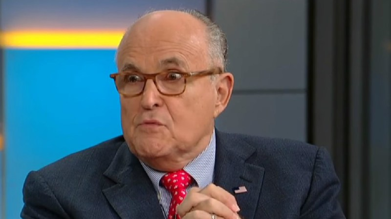 Rudy Giuliani Promotes Call To Freeze 'Anti-Christ' George Soros' Assets