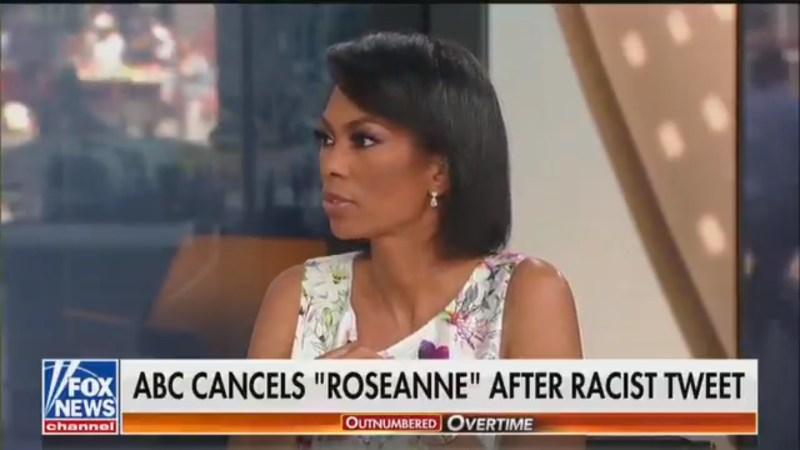 Fox's Harris Faulkner On Roseanne's Racist Tweet: 'I Don't Understand It To Be Anything Other Than Free Speech'
