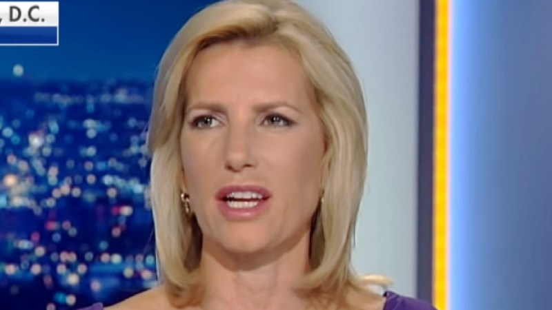 Laura Ingraham Mocks NBC For Pulling Racist Trump Ad…After Fox News Does The Same Thing
