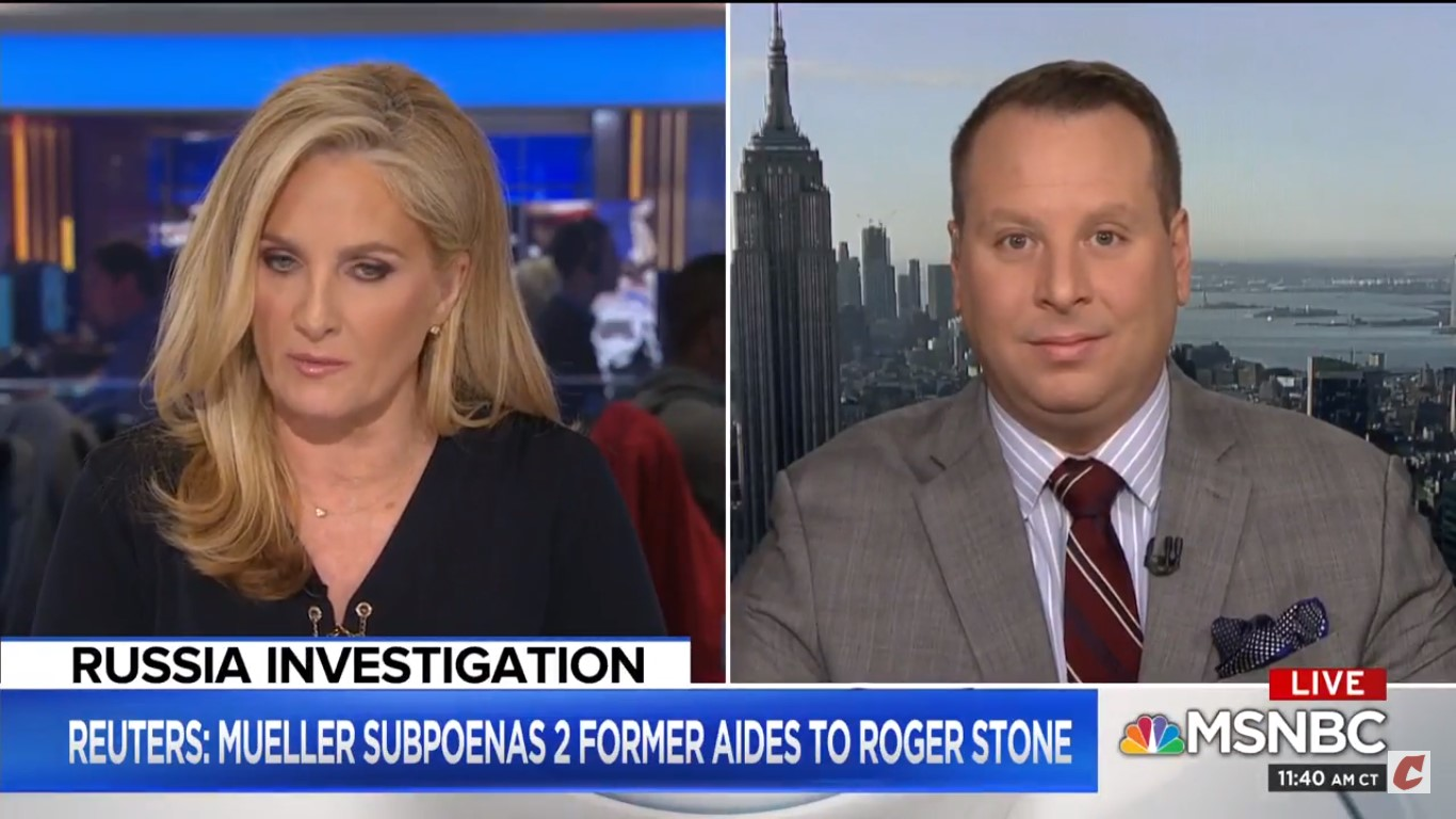Ex-Trump Advisor Sam Nunberg Blurts Out Name Of FBI Informant During MSNBC Interview