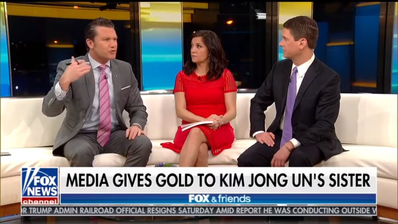Remember When Pete Hegseth Flipped Out Over Media's Coverage Of Kim Jong Un's Sister?