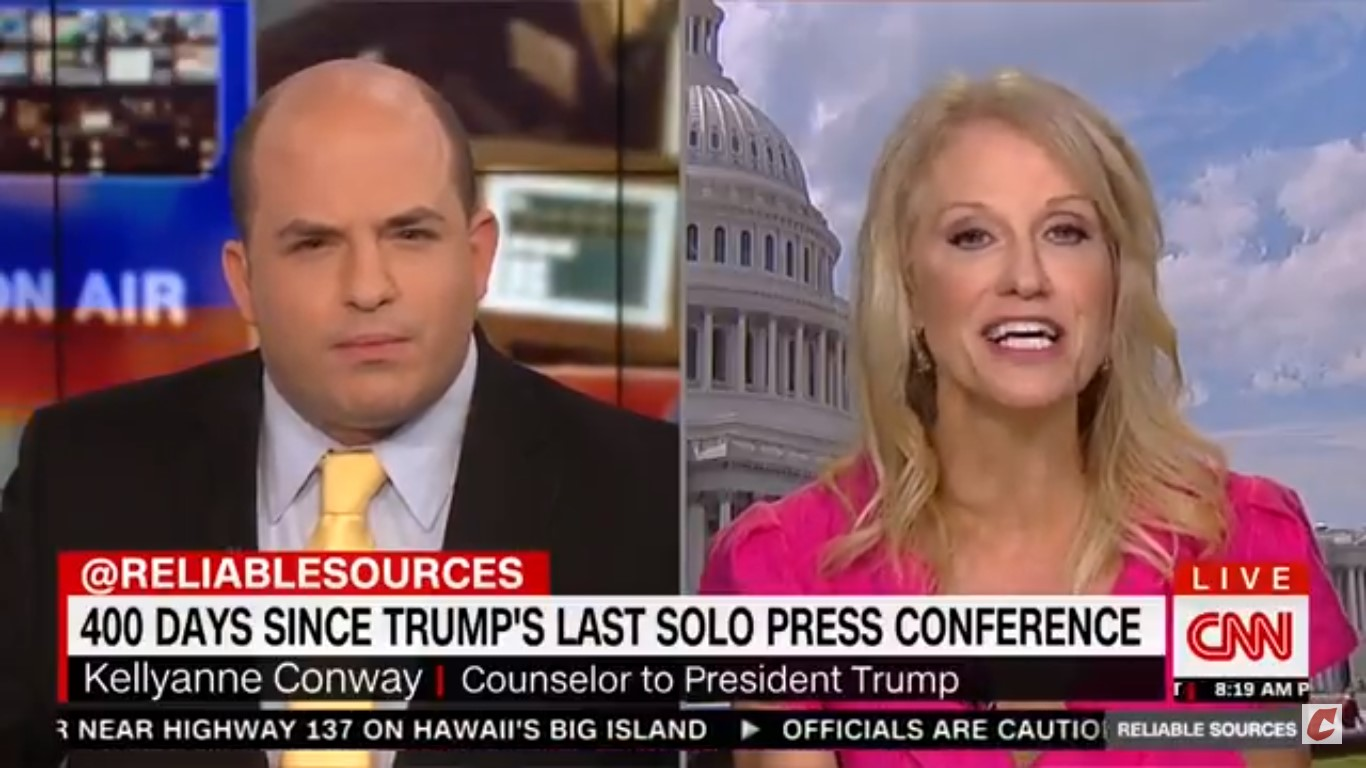 White House Counselor Kellyanne Conway Touts Hannity's Ratings During CNN Interview