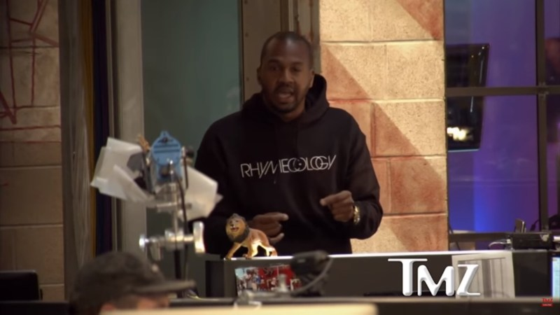 TMZ Reporter Goes Off When Kanye West Calls Slavery 'A Choice': 'You Gotta Be Responsible, Man'